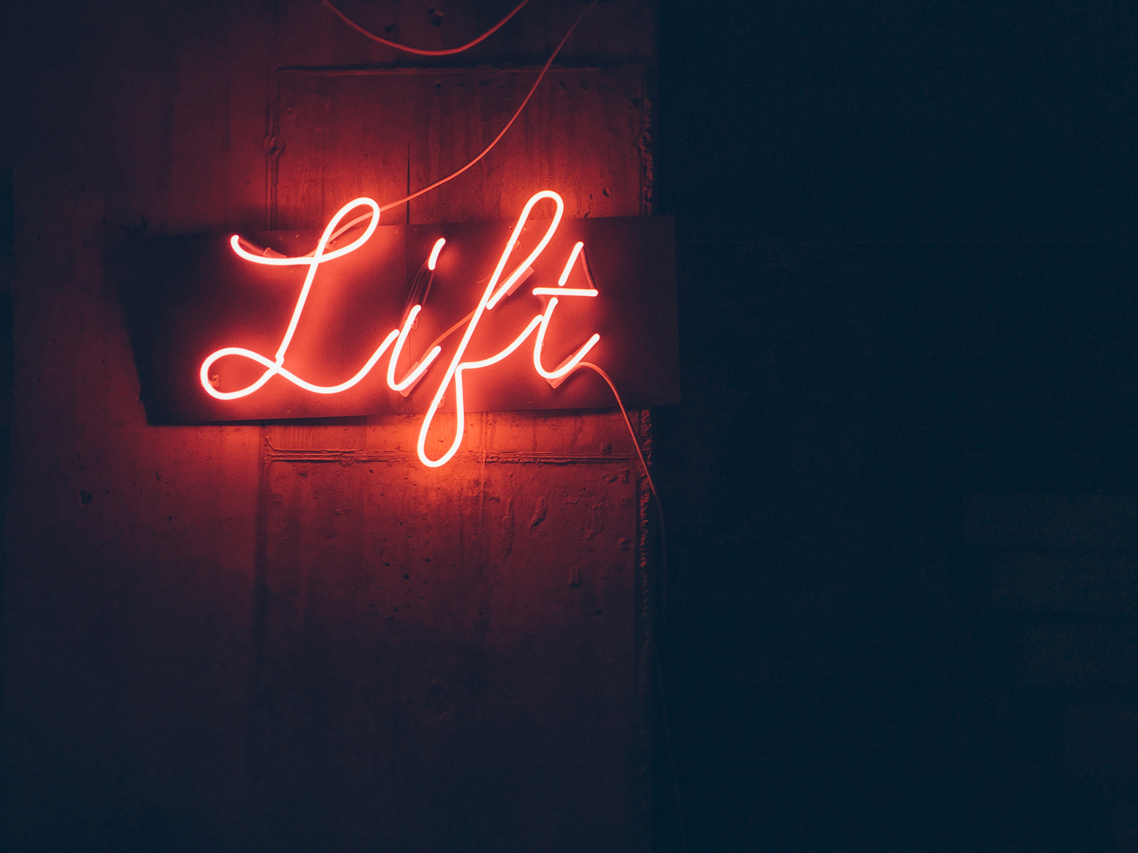 max hofstetter lift neon sign unsplash