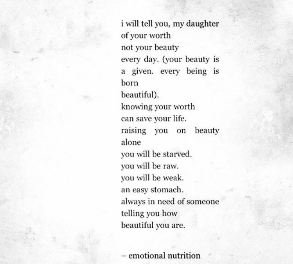 emotional nutrition by nayyirah waheed