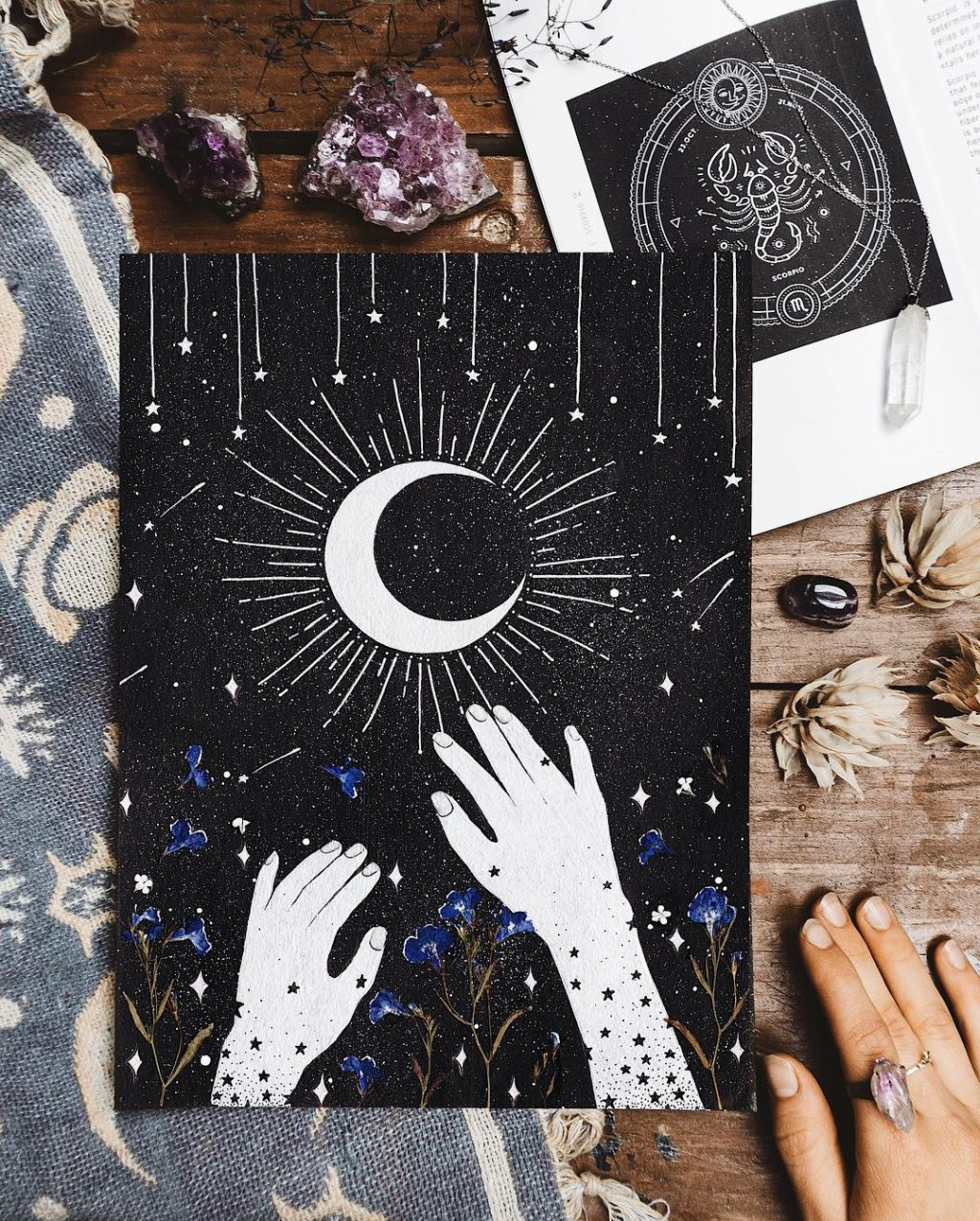 A New Moon Ritual to Help You Realize Your Goals