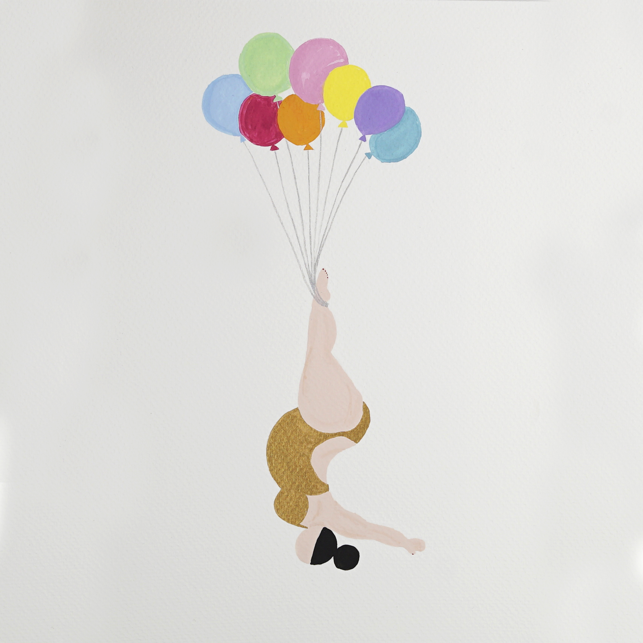 My Fat Lady balloon Lift me up